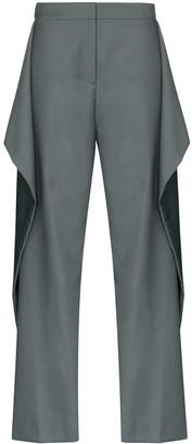 Marta Jakubowski Blossom two-tone trousers