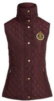 Thumbnail for your product : Lauren Ralph Lauren Ralph Lauren Bullion-Crest Quilted Vest
