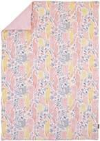 DwellStudio Dwell Studio Boheme Peacock/Floral Print Comforter, Peach/Gold/Gray