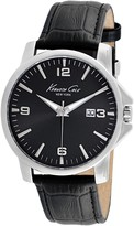 Kenneth Cole New York Men's Croc Embossed Leather Watch
