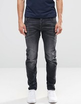 G-star Arc 3d Slim Jeans In Washed Grey