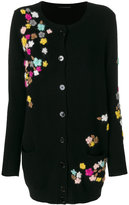Ermanno Scervino floral detail cardigan - women - Cashmere/Virgin Wool - 40