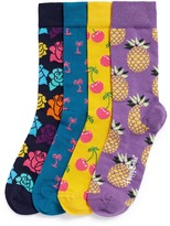 Happy Socks Pop mixed pattern socks 4-pair gift box