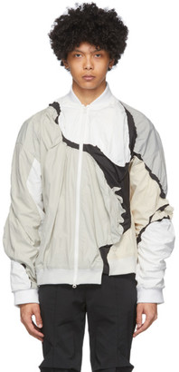 Post Archive Faction PAF Grey and White 3.0 Left Jacket