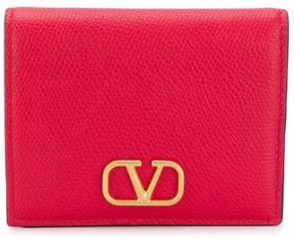 Valentino VLOGO signature bifold wallet