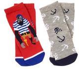 Gymboree Gorilla & Pirate Socks