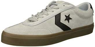 Converse Men's Courtlandt Suede Leather Accent Low Top Sneaker