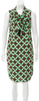 Marni Geometric Print Scarf Dress