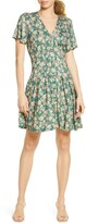 French Connection Tahki Meadow Floral Jersey Dress