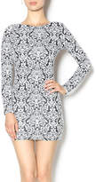 Nightcap Clothing Black White Floral Dress