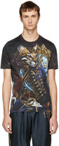 Dolce & Gabbana Black Royal Puma T-Shirt
