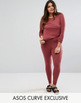 Asos LOUNGE 2 Pack Long Sleeve Tunic Top & Legging