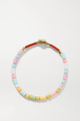 Roxanne Assoulin Neon U-tube Enamel Bracelet - Pink