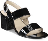 Rialto Caroline Block-Heel Sandals