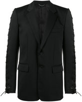 John Lawrence Sullivan Tied sleeve suit jacket