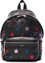 Saint Laurent City Mini Star Backpack