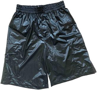 Rains Black Polyester Shorts