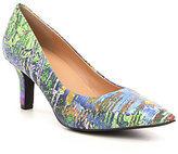 Trotters Noelle Watercolor Leather Pumps