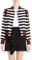 MSGM Women's Stripe Bomber Jacket