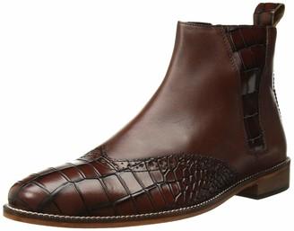 Stacy Adams Men's Fazio Wingtip Side-Zip Boot Fashion