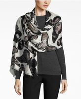 INC International Concepts Butterfly Print Wrap & Scarf in One, Only at Macy's