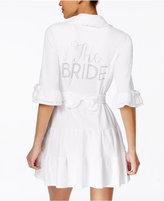 "Betsey Johnson The Bride"" Terry Robe"