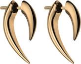 Shaun Leane Silver and rose gold platetalon earrings