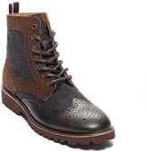 Tommy Hilfiger Contrast Leather Oxford Boot