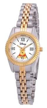 EWatchFactory Disney Winnie Women's Two Tone Silver and Gold Alloy Watch