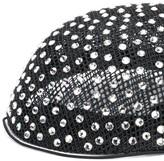 Gucci gemstone embellished hat