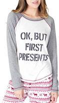 PJ Salvage Nordic Nostalgia Crewneck Raglan T-Shirt