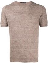 Tagliatore crew neck short-sleeved T-shirt
