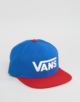 Vans Snapback Cap In Blue