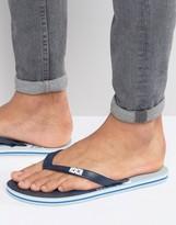 Dc Logo Flip Flops Blue