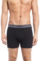 Naked Men's Essential Stretch Cotton Boxer Briefs