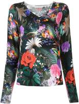Mary Katrantzou Rose Garden print sweater