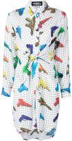 Jeremy Scott water gun print shirt dress - women - Rayon - 40