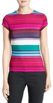 Ted Baker Women's Blushing Stripe Fitted Tee
