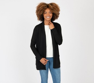 Gibson Look Cozy Ribbed Knit Cardigan