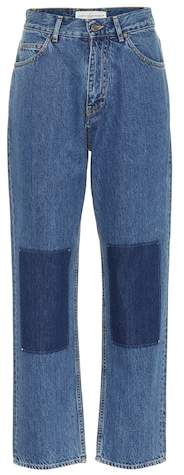 Golden Goose Wide-leg patch jeans