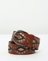 Maison Scotch Medium Width Leather Belt