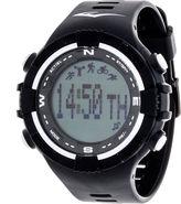 Everlast Black and White Pedometer Watch