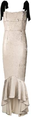 Rachel Gilbert Addie sequin fitted dress