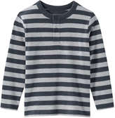 Joe Fresh Toddler Boys' Stripe Top, Light Navy (Size 4)