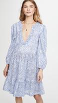 Lorelei Alix Of Bohemia Periwinkle Block Print Dress