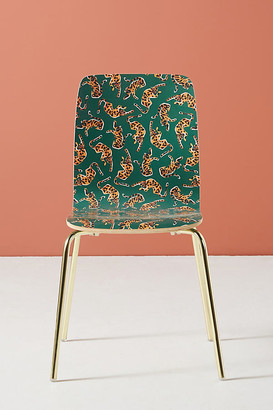 Colloquial Tamsin Dining Chair By 52 Conversations by Anthropologie in Green Size ALL