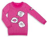 Betsey Johnson Girls 7-16 Long Sleeve Sweater