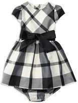Ralph Lauren Infant Girls' Plaid Taffeta Dress & Bloomer Set - Sizes 3-24 Months