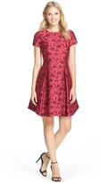 Taylor 5913M Short Sleeve Rosebud Dress