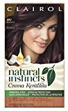 Clairol Natural Instincts Crema Keratina Hair Color Kit, Burgundy 4RV Eggplant Creme
